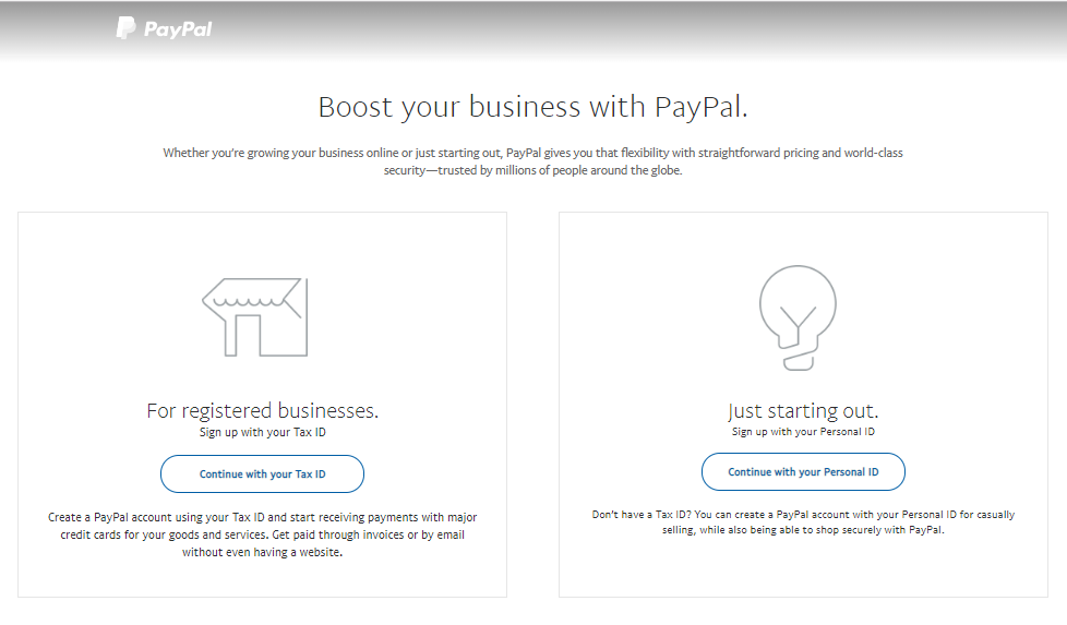 PayPal Business Account for Online Stores Like Woocommerce