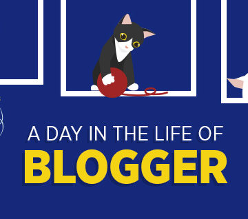 A Day in The Life of a Blogger (Kitten Style)