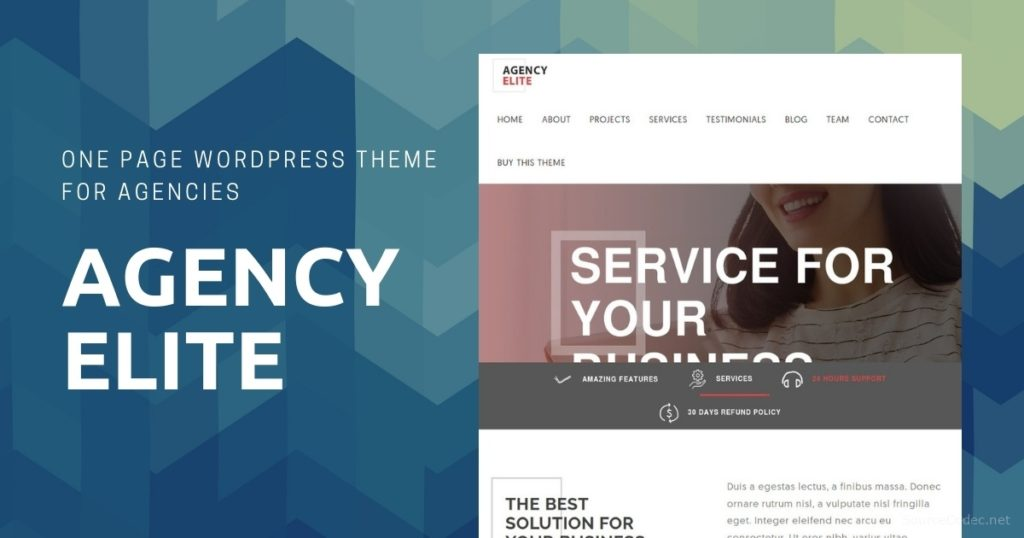 AGENCY ELITE WORDPRESS THEME