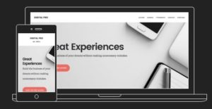 Digital Pro WordPress business Theme