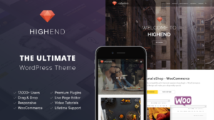 Highend Business WordPress Theme