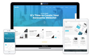 Jevelin WordPress business theme