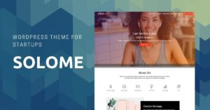 Solome business wordpress theme