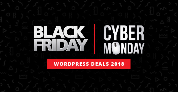 Black Friday Cyber Monday Deals WordPress