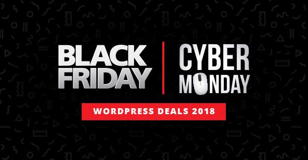 Black Friday Cyber Monday Deals WordPress