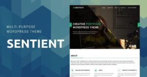 sentient WordPress theme for businesses