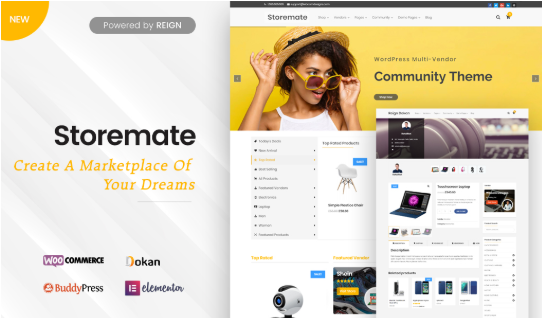10 Best Marketplace WordPress Themes for 2019