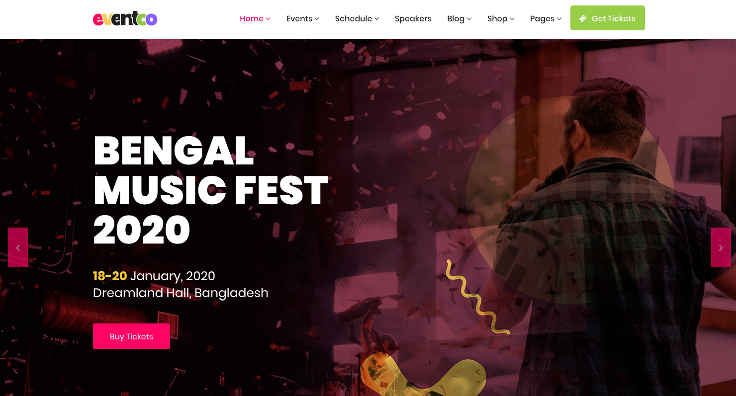 29 Top WordPress Themes to Build Amazing Event Websites in 2019 1