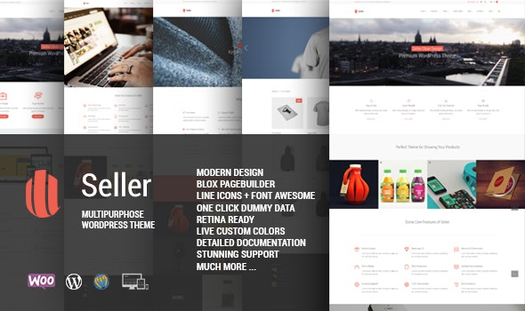 Seller Woocommerce WordPress theme