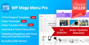 WP Mega Menu Pro Plugin