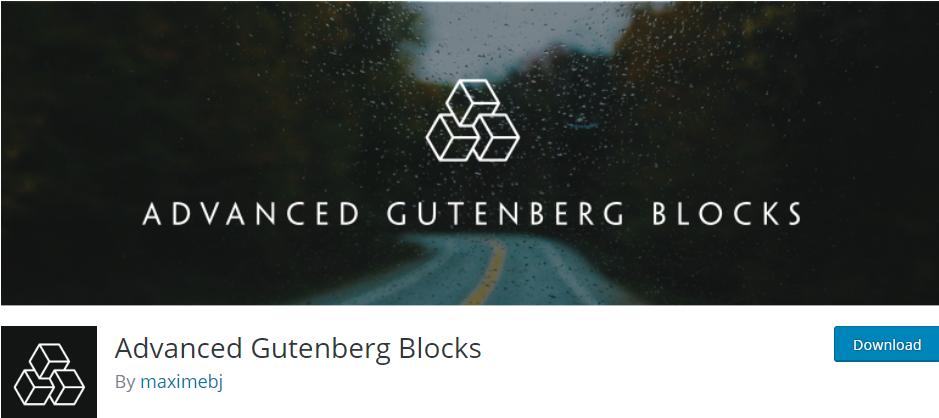 9 Best Gutenberg Block Plugins You Must Download in 2019 6