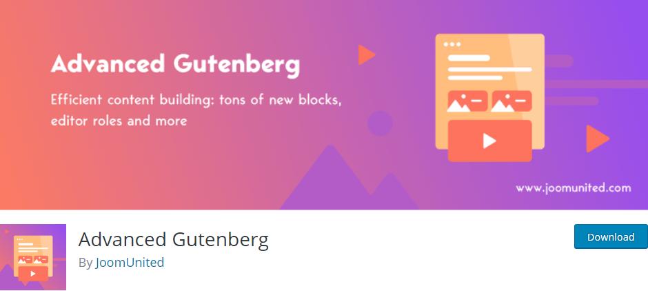 9 Best Gutenberg Block Plugins You Must Download in 2019 4