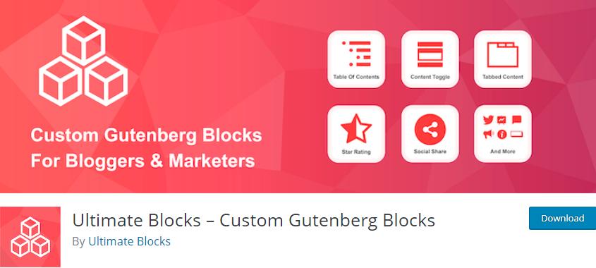 9 Best Gutenberg Block Plugins You Must Download in 2019 8