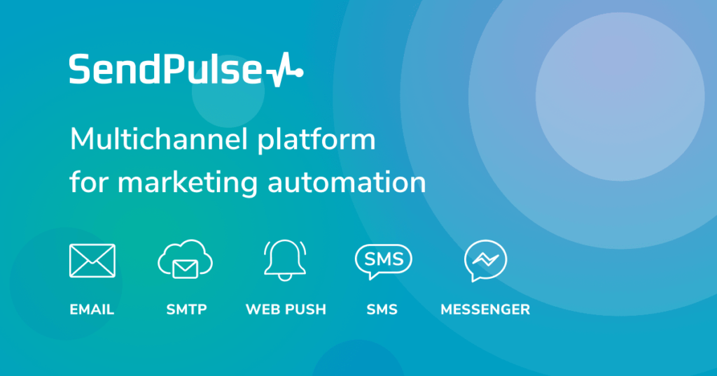 SendPulse marketing automation tool