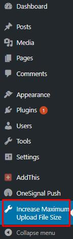 Admin Panel Sidebar