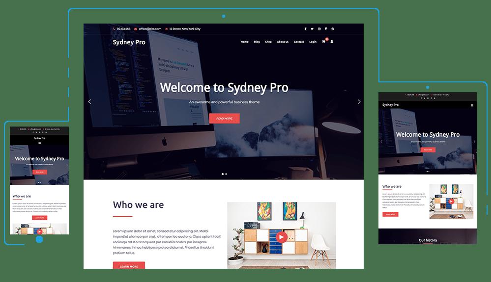 Sydney Pro beaver builder theme