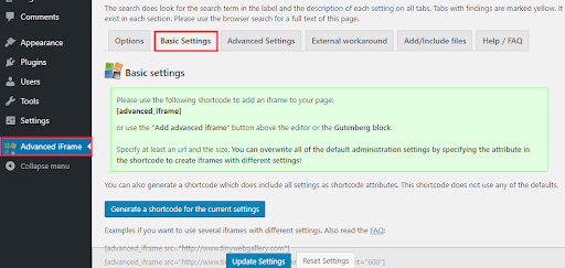 Embed WordPress iFrame With or Without a Plugin