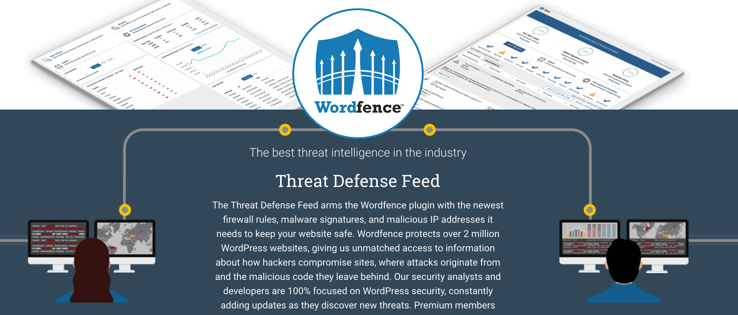 Wordfence WordPress firewall Plugin