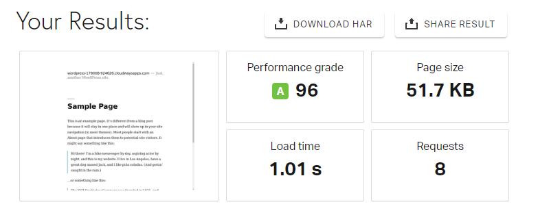 WordPress iframe before results