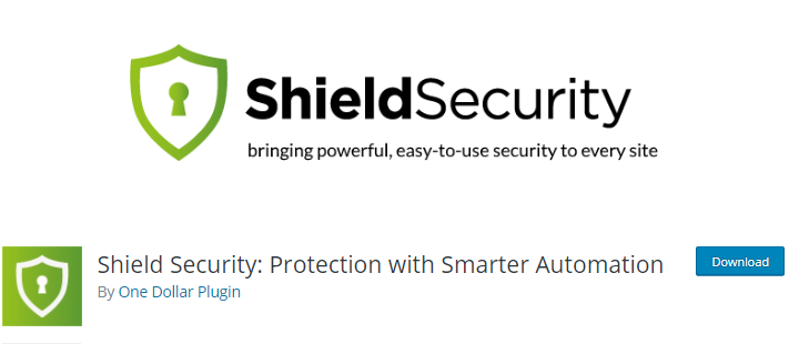 Shield Security WordPress firewall plugin to secure site