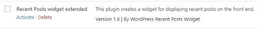 WordPress list posts by category