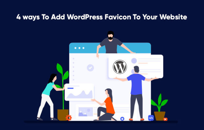 add WordPress Favicon