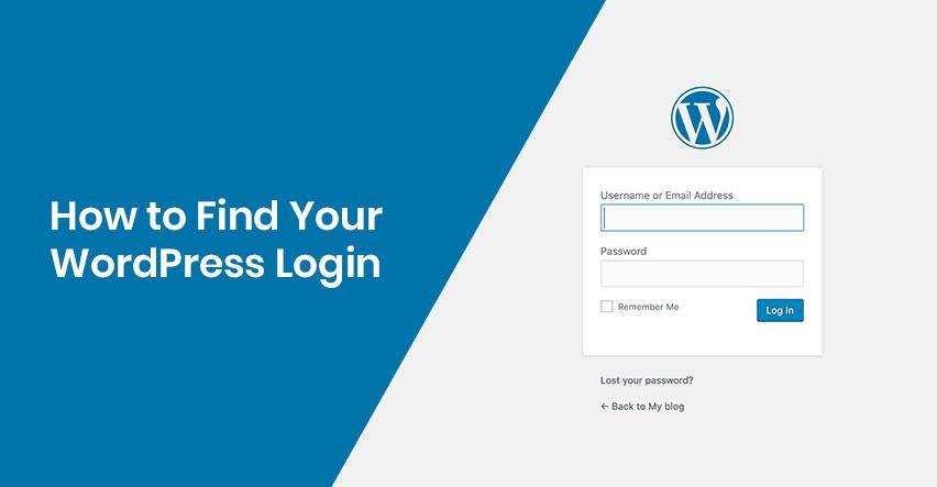 How to find WordPress Login Url