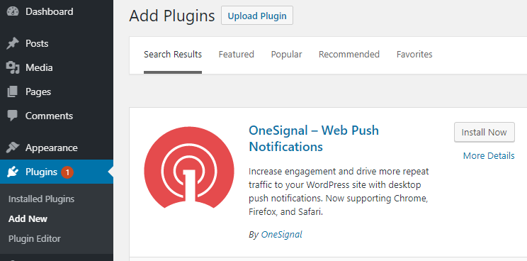 How to Add Push Notification on Your WordPress Website 1