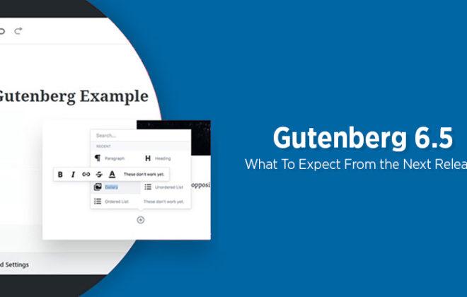 Gutenberg 6.5