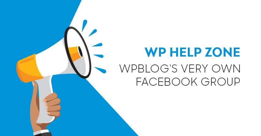 WPblog Facebook Group Anncouncement