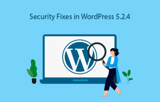 new security fixes on WordPress 5.2.4