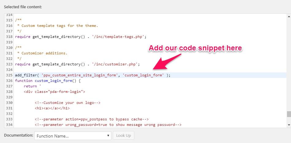 Create a Custom Login, Registration, & Password Page in WordPress 20