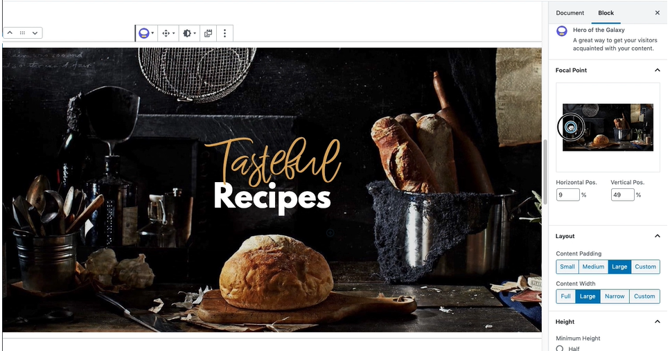 Rosa 2 — the First WordPress Restaurant Theme on Gutenberg 1