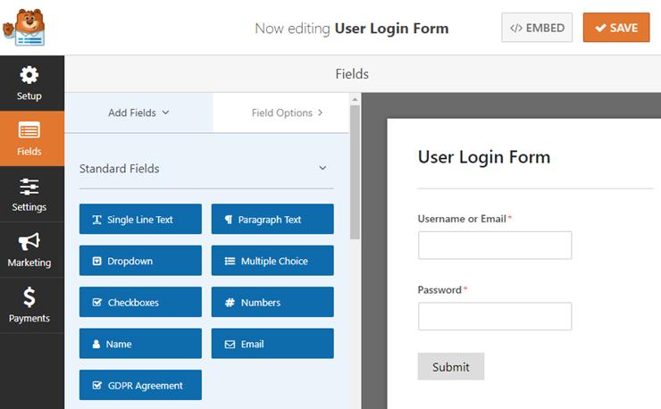 Create a Custom Login, Registration, & Password Page in WordPress 12