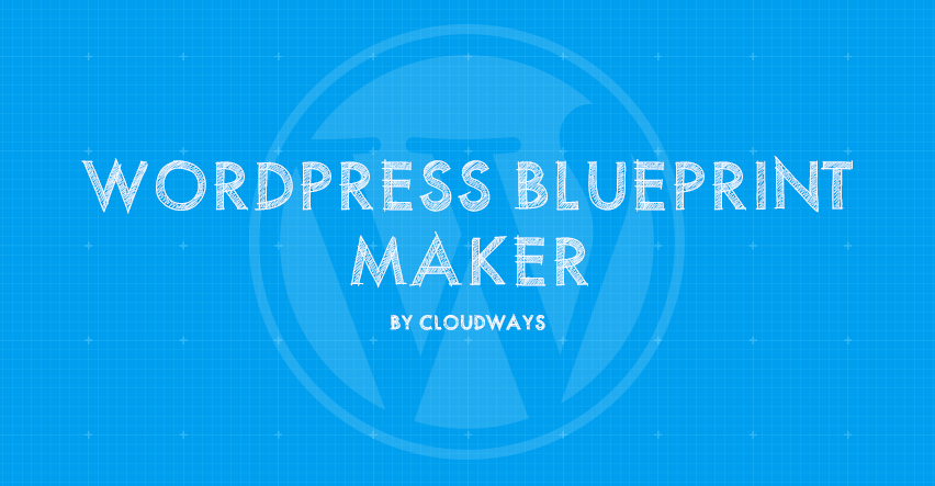 wordpress blueprint maker