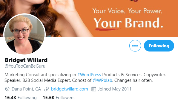 bridget-willard WordPress Superheroes To Follow in 2020 [With Exclusive Tips From Some Influencers] WPDev News  Interviews|influencers 2020|WordPress|wordpress influencers