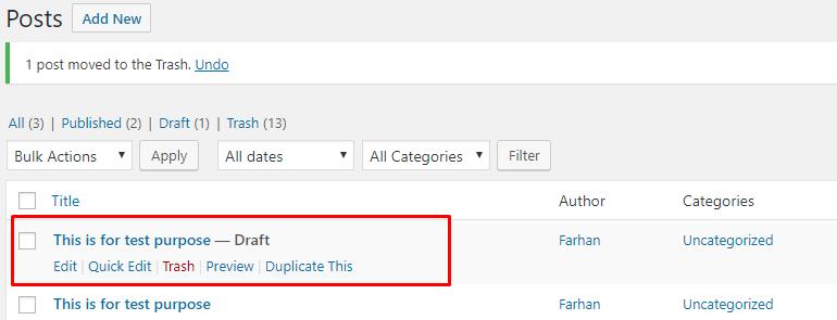 copy-of-post How to Duplicate WordPress Page or Post WPDev News  WordPress Tutorials|clone WordPress page|Create duplicate page|WordPress Page