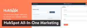 HubSpot CRM WordPress plugin