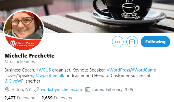 michelle-frechette WordPress Superheroes To Follow in 2020 [With Exclusive Tips From Some Influencers] WPDev News  Interviews|influencers 2020|WordPress|wordpress influencers