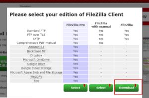 Install FTP Client FileZilla