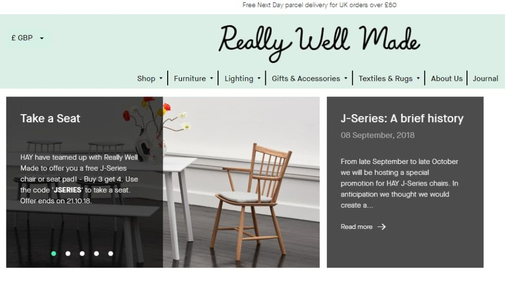 Really-Well-Made website design examples