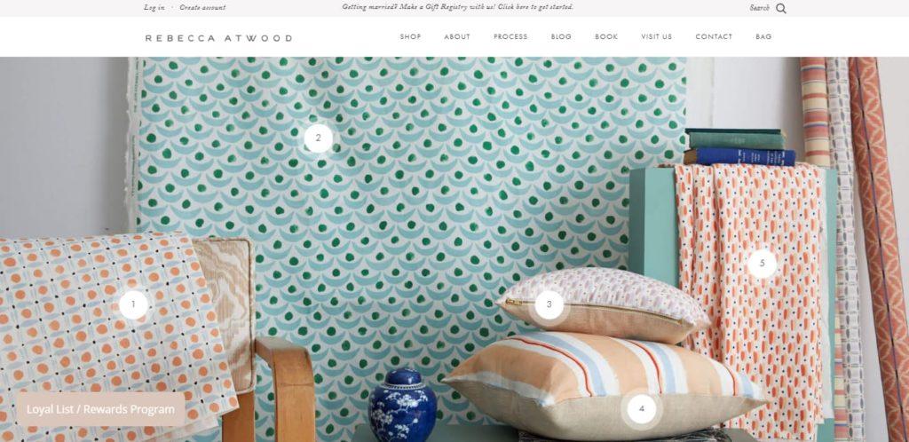 Rebecca Atwood Store design
