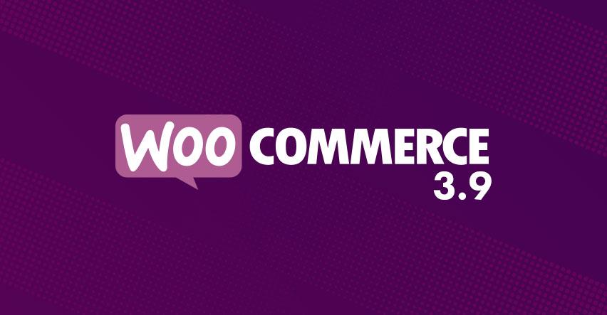 WooCommerce 3.9
