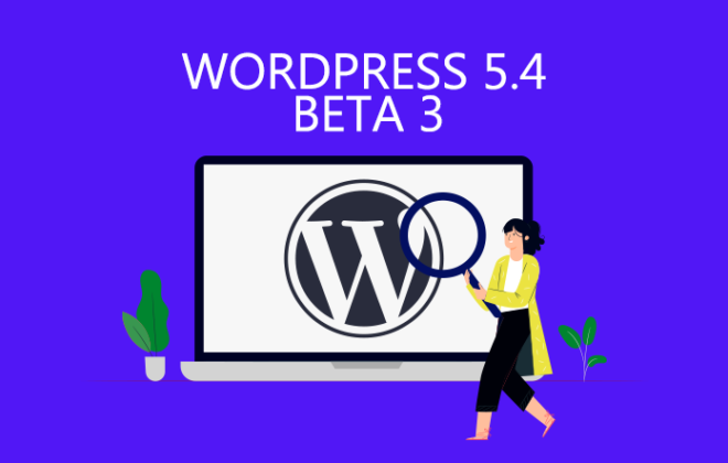 WordPress 5.4 beta 3
