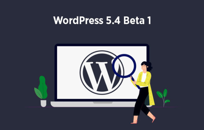 WordPress 5.4 Beta 1