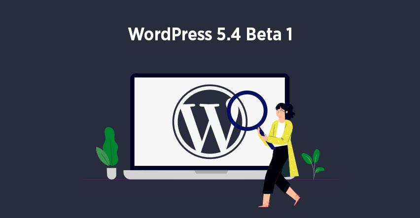 WordPress 5.4 Beta 1