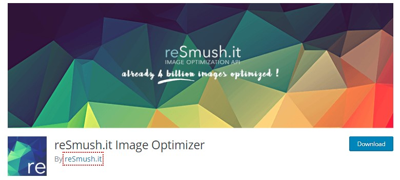 resmush wordpress image optimization plugin