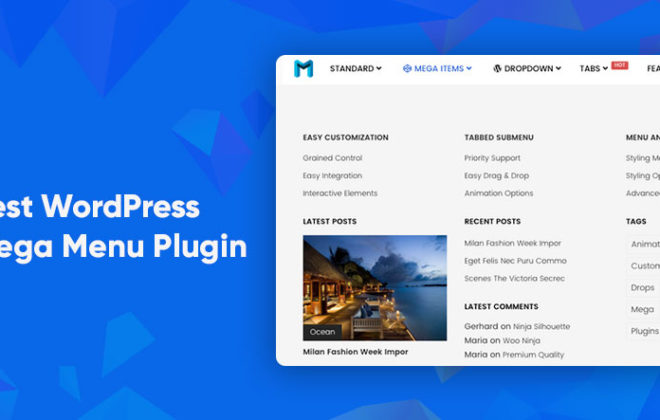 WordPress mega menu Plugins